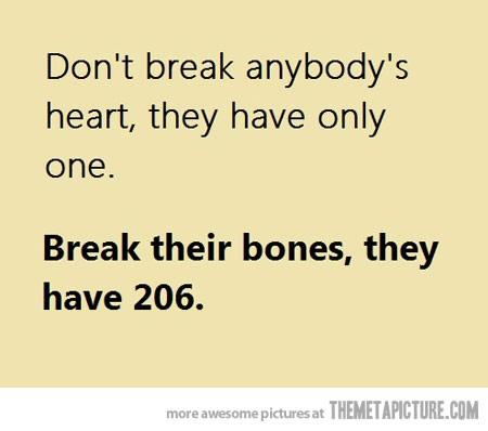 Break My Heart Simple And Interesting
