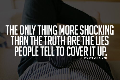 Truth And Lies Quotes Simple And Interesting