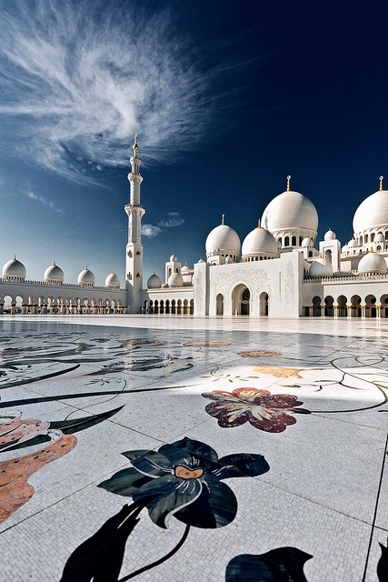 Sheikh Zayed Grand Mosque Simple And Interesting